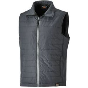 Dickies Loudon Gilet - Grey - Size Small