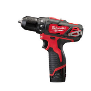 Milwaukee M12BDD-202C M12 Compact Drill Driver 2 x 2.0Ah Batteries