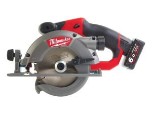 Milwaukee M12CCS44-602X Fuel 44mm Circular Saw 2 x 6.0 Batteries