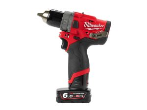 Milwaukee M12FPD-602C M12 Fuel Compact Percussion Drill 2 x 6.0 Batteries