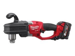 Milwaukee M18CRAD-502X M18 Right Angle Drill Driver 2 x 5.0Ah Batteries