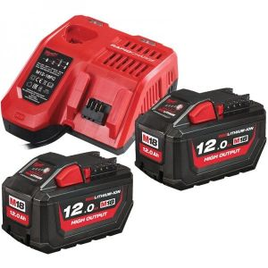 Milwaukee M18HNRG-122 12.0Ah High Output Battery and Charger Pack
