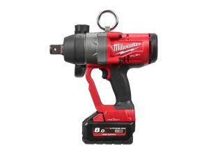 Milwaukee M18ONEFHIWF1-802X One-Key High Torque Impact Wrench Kit inc 2 x 8.0Ah Batteries