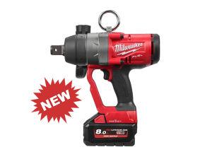 Milwaukee M18ONEFHIWF1-802X One-Key High Torque Impact Wrench Kit inc 2 x 8.0Ah Batteries
