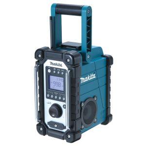 Makita DMR107 Job Site Radio - Blue - 7.2V - 18V