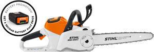 Stihl MSA200C-B Cordless Chainsaw Set inc. 2 x AP300 Batteries & 1 x AL300 Charger