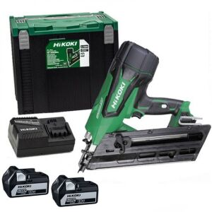 Hikoki NR1890DCJPZ 18V Brushless First Fix Nailer 2 x 5.0Ah Batteries