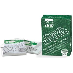 Numatic NVM-2BH Hepaflo Filter Bags (Box of 10)