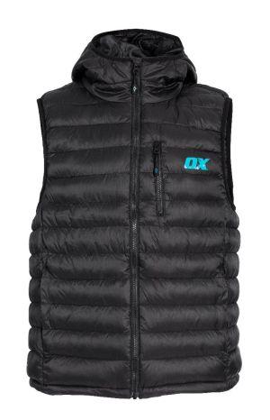Ox Ribbed Gilet - Black - X-Large