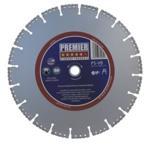 P5-VB 230mm Vacuum Brazed Diamond Rescue Blade