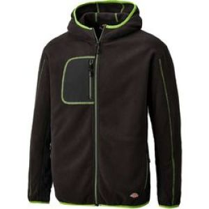Dickies Pembroke Fleece - Black/Lime - Size XX-Large