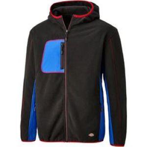 Dickies Pembroke Fleece - Black/Red - Size Large