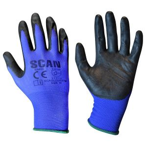 Scan Max Dexterity Nitrile Gloves - Size 9 (L)