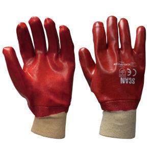 Scan PVC Knitwrist Gloves