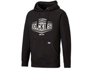 Dickies Rockfield Hoodie Black - SH3011 - Medium