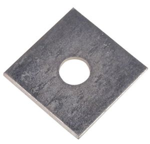 3mm Square Plate Washers M12 x 50 BZP (Sold Individually)