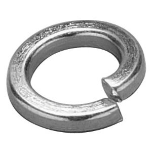 M6  Square Section Spring BZP Washers (Sold Pack of 100)