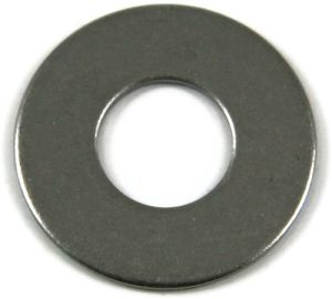 M4 Steel BZP Washers Form A (Sold Individually)