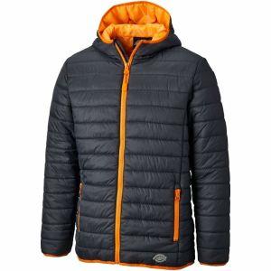 Dickies Stamford Puff Jacket - Grey/Orange - Size X-Large