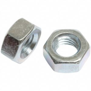 M6   Steel BZP Hex Nuts (Sold Pack of 100)