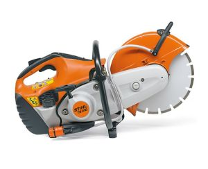 "Stihl TS410 12"" Petrol Cut Off Saw with Abrasive Metal Cutting Wheel"