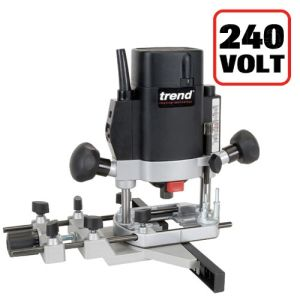 "Trend T5EB 1000W Variable Speed 1/4"" Router 240V"