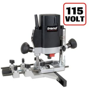 """Trend T5EB 1000W Variable Speed 1/4"""" Router 110V"""