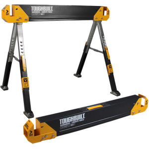 Toughbuilt C650 Pair of Saw Horse/Jobsite Table