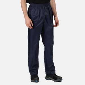Regatta Pro Packaway Breathable Over Trouser - Navy - Size Large