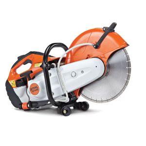 "Stihl TS420 Petrol 14"" Cut-Off Saw with Abrasive Metal Cutting Wheel"