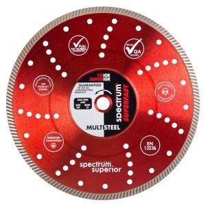 Spectrum Superior Turbo Diamond Blade - Multi Steel - 300/20mm