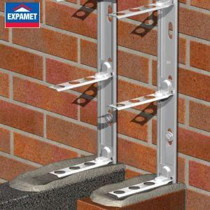Expamet Universal Stainless Steel Wallstarter Set
