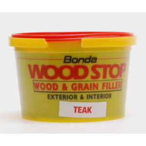 Woodstop - Wood and Grain Filler 250ml White